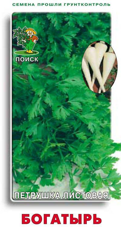Петрушка листовая Нежный аромат, семена